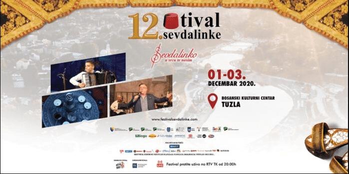 "Festival sevdalinke ""Sevdalinko u srcu te nosim"" od 1. do 3. decembra"