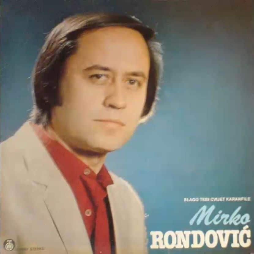 Mirko Rondović – Moj dilbere