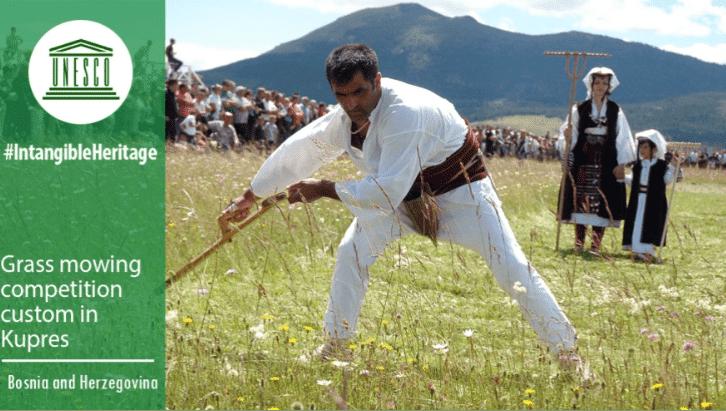 Fantastična vijest iz Pariza:  Košenje trave na Kupresu uvršteno na listu nematerijalnih dobara UNESCO-a
