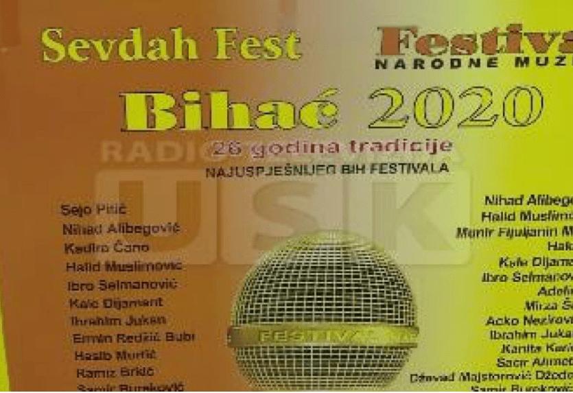 Festival sevdaha i narodne muzike otvoren u Bihaću (FOTO)