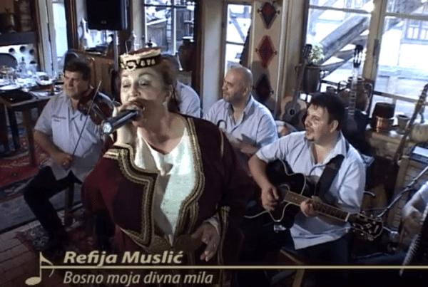 Refija Muslić - Bosno moja, divna mila