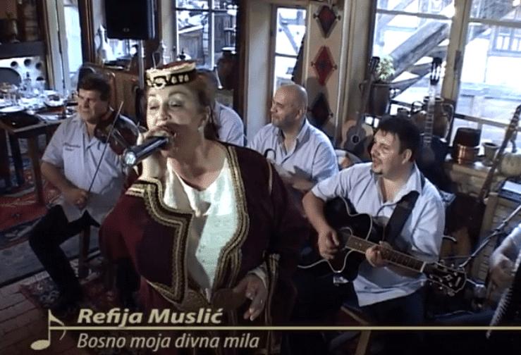 Refija Muslić – Bosno moja, divna mila