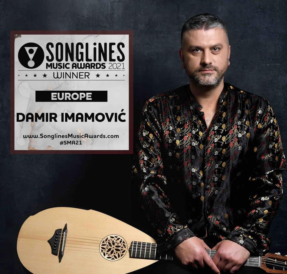 Damir Imamović proglašen najboljim umjetnikom Evrope!