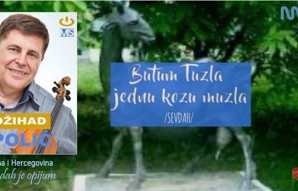 Džihad Polić obradio zaboravljenu pjesmu - BUTUM TUZLA JEDNU KOZU MUZLA