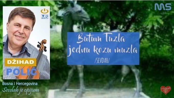 Džihad Polić obradio zaboravljenu pjesmu – BUTUM TUZLA JEDNU KOZU MUZLA