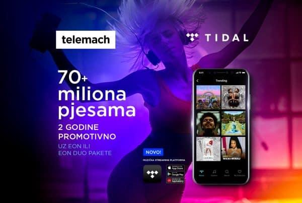 Stigao je TIDAL– najbolji zvuk koji te prati svuda sada uz Telemach BH!