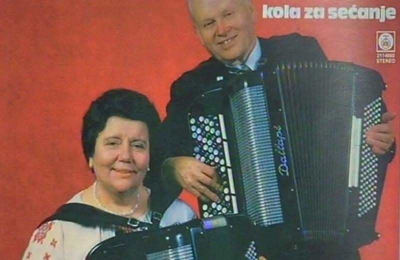 Radojka i Tine Živković (Napisala pjesmu - Neko tiho ulicom pjevuši)