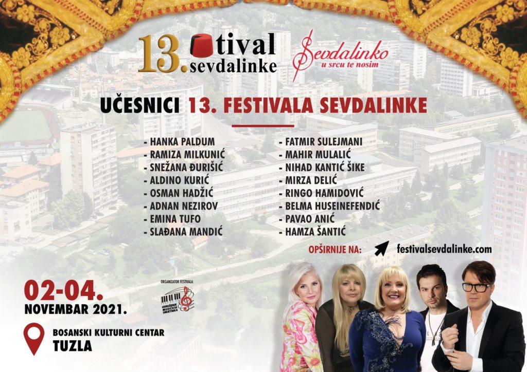 13. Festival sevdalinke u novembru u Tuzli