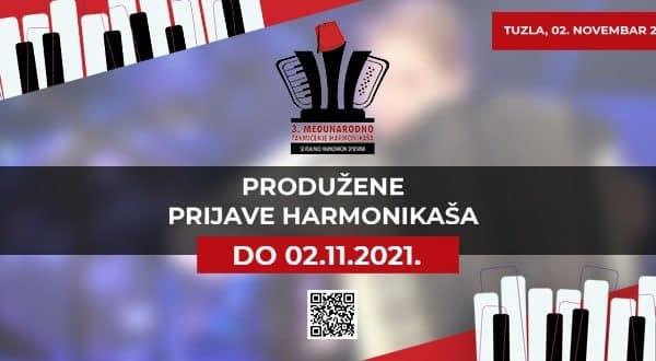 3. međunarodno takmičenje harmonikaša - Produžene prijave za učešće do 02.novembra