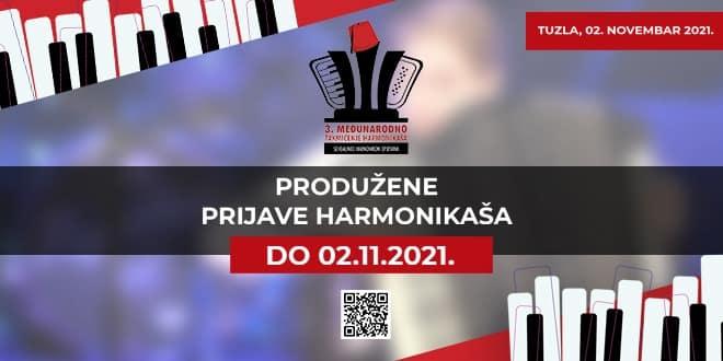 3. međunarodno takmičenje harmonikaša – Produžene prijave za učešće do 02.novembra